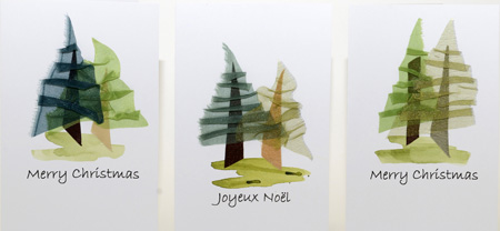 Woodscape Xmas cards